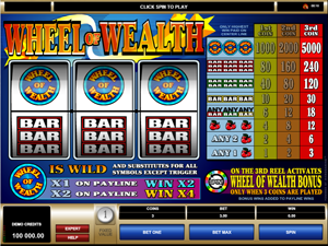 Wheel of Wealt screenshot