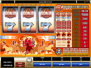Wheel of Wealth: Free Spirit screenshot